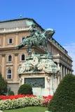 皇家布达佩斯的宫殿 库存照片