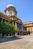 皇家布达佩斯的宫殿 免版税库存照片