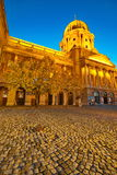皇家布达佩斯的宫殿 图库摄影