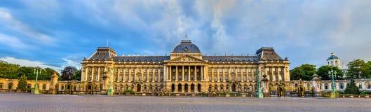 皇家布鲁塞尔的宫殿 免版税库存照片