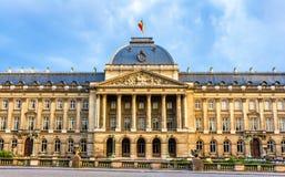 皇家布鲁塞尔的宫殿 免版税图库摄影