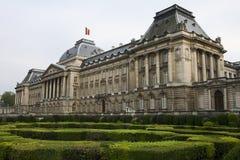 皇家布鲁塞尔的宫殿 图库摄影