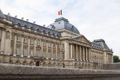 皇家布鲁塞尔的palais 库存照片