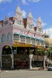 皇家广场, Oranjestad,阿鲁巴 免版税库存照片