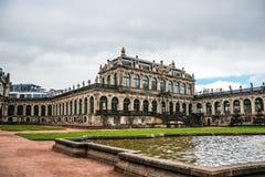 皇家德累斯顿的宫殿 德国的旅游胜地 库存照片