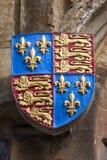 皇家徽章在所有灵魂学院牛津的 免版税图库摄影