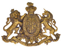 皇家徽章的 免版税库存图片