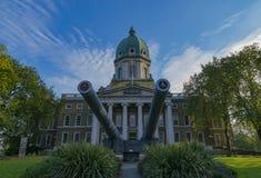 皇家战争博物馆伦敦 免版税图库摄影