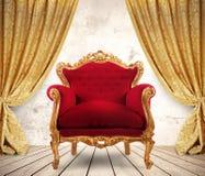 皇家扶手椅子 库存图片
