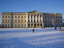 皇家挪威的宫殿 免版税库存图片