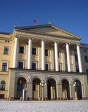 皇家挪威的宫殿 免版税库存照片