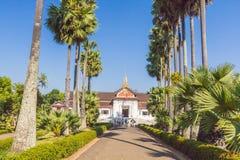 皇家故宫博物院在琅勃拉邦,老挝 库存图片