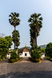 皇家故宫博物院,琅勃拉邦,老挝 免版税图库摄影