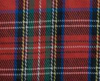 皇家斯图尔特格子呢 苏格兰,墙纸 免版税库存照片