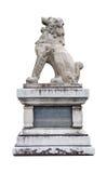皇家日本狮子雕象 免版税库存图片