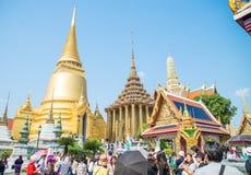皇家曼谷全部的宫殿 库存照片