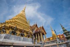 皇家曼谷全部的宫殿 库存图片