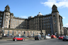 皇家格拉斯哥的医疗所 库存照片