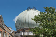 皇家格林威治的观测所 免版税库存图片