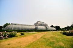 皇家植物园的温室, Kew 库存照片