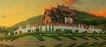 皇家植物群Ratchaphruek公园,清迈,泰国 图库摄影