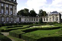 皇家比利时布鲁塞尔的宫殿 免版税图库摄影