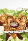 皇家沙拉蕃茄 免版税库存图片