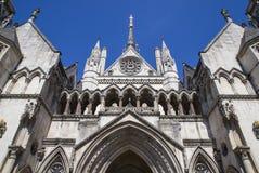 皇家法院在伦敦 库存照片