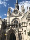 皇家法院,伦敦,英国 库存图片
