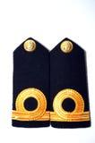 皇家泰国海军肩章 免版税库存照片
