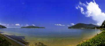 皇家海军泰国的海湾基础。 库存照片