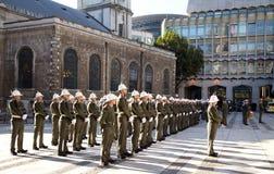 皇家海军陆战队员 库存照片
