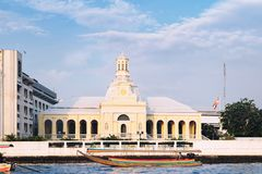 皇家温床在曼谷,泰国 免版税库存图片