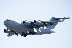 皇家澳大利亚人空军队C-17A Globemaster III 免版税库存照片