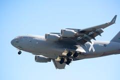 皇家澳大利亚人空军队C-17A Globemaster III 库存照片
