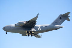 皇家澳大利亚人空军队C-17A Globemaster III 免版税库存图片