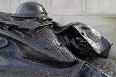 皇家火炮战争纪念建筑在海德ParkLondon 免版税图库摄影