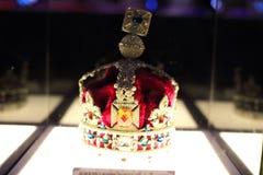 皇家状态冠的模仿1937年 免版税库存照片