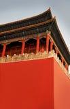 皇家瓷的宫殿tienanmen 库存照片