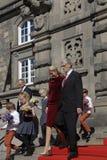 皇家由丹麦的总理招呼 库存图片