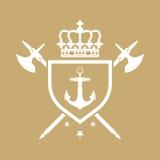 皇家的冠 免版税图库摄影