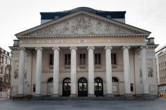 皇家的剧院,布鲁塞尔 库存图片
