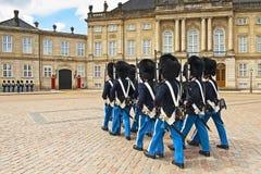 皇家的卫兵 免版税库存图片