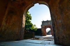 皇家的城市 Hué 越南 库存图片