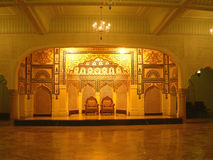 皇家的大厅 免版税库存照片