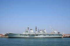 皇家的平底船hms r07 库存照片