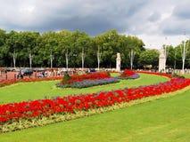皇家的庭院 免版税库存图片