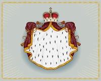 皇家的披风 向量例证