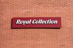 皇家的收藏 库存照片