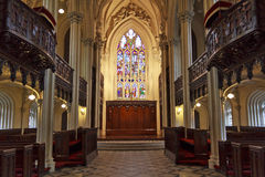 皇家的教堂 免版税库存照片